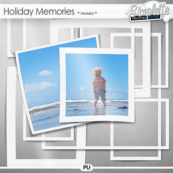 Holiday Memories (photo frames)