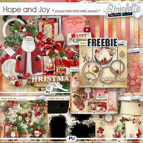 Hope and Joy (collection with FREE addon) by Simplette
