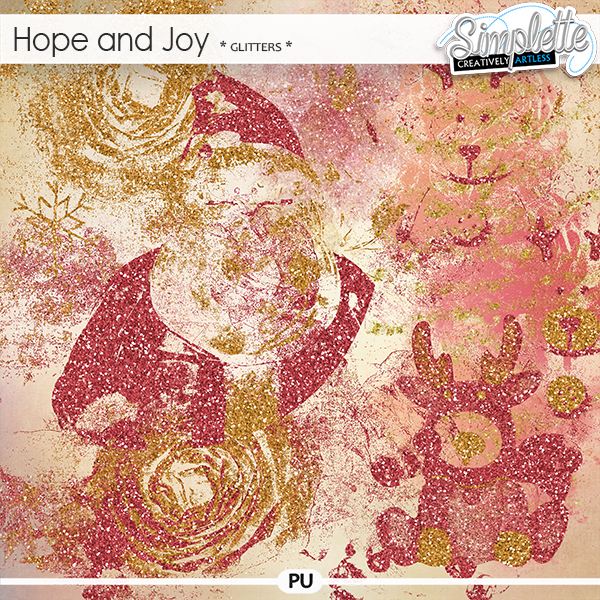Hope and Joy (glitters) by Simplette