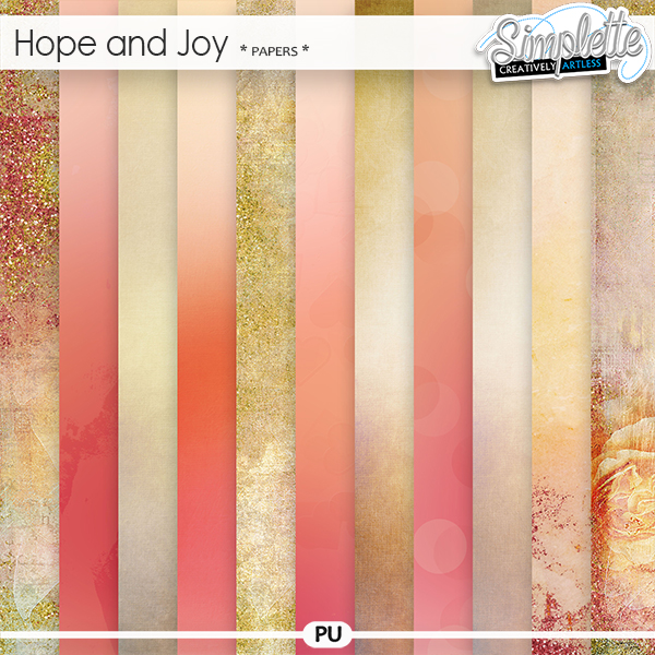 Hope and Joy (papers) by Simplette