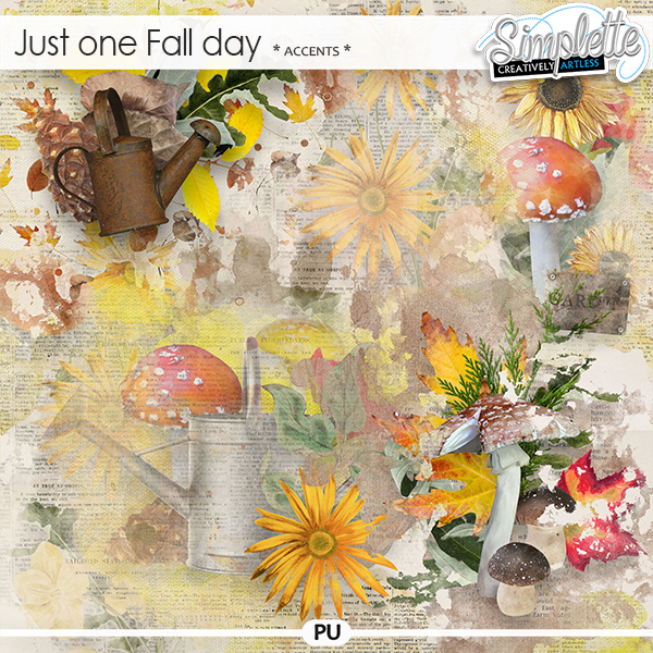 Just one Fall day (accents) by Simplette | Oscraps
