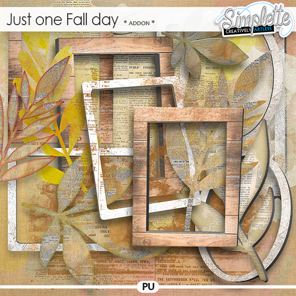 Just one Fall day (addon) by Simplette | Oscraps