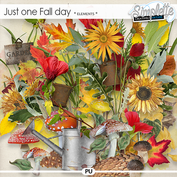Just one Fall day (elements) by Simplette   Oscraps