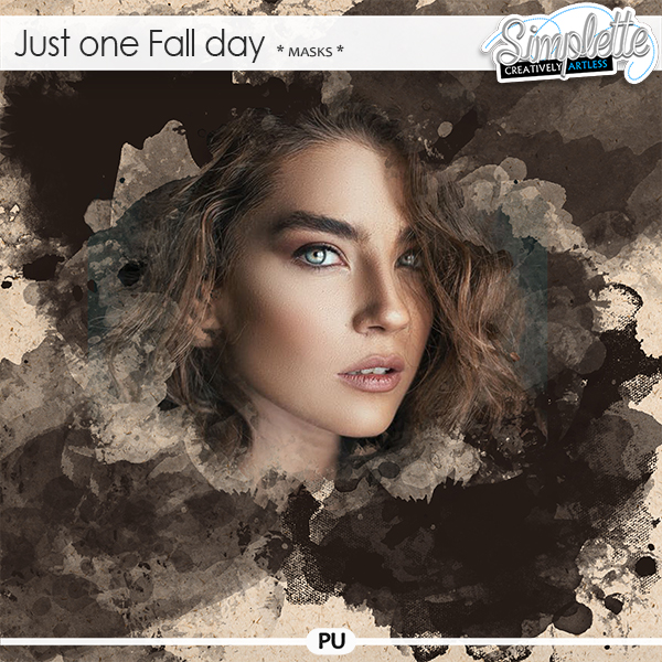 Just one Fall day (masks) by Simplette   Oscraps
