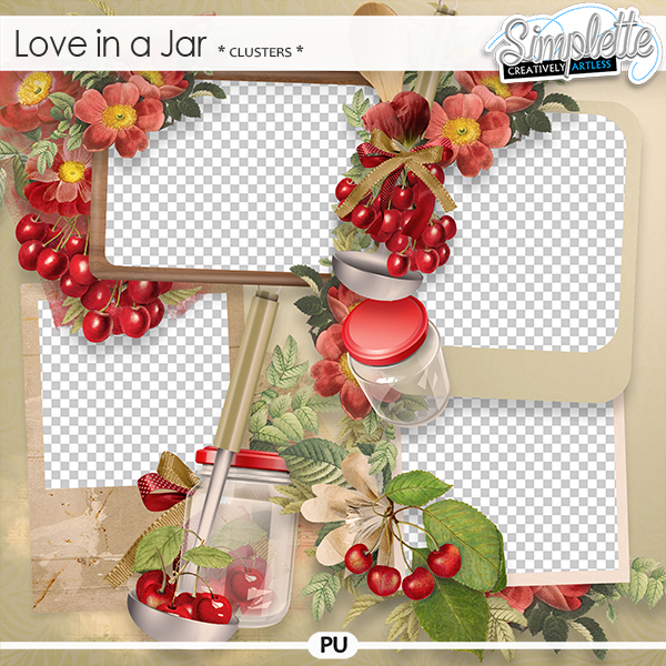 Love in a Jar (clusters) by Simplette