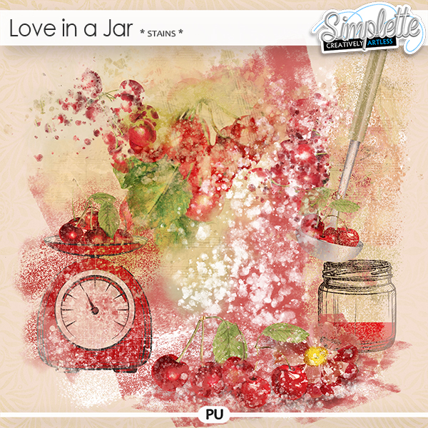 Love in a Jar (stains) by Simplette