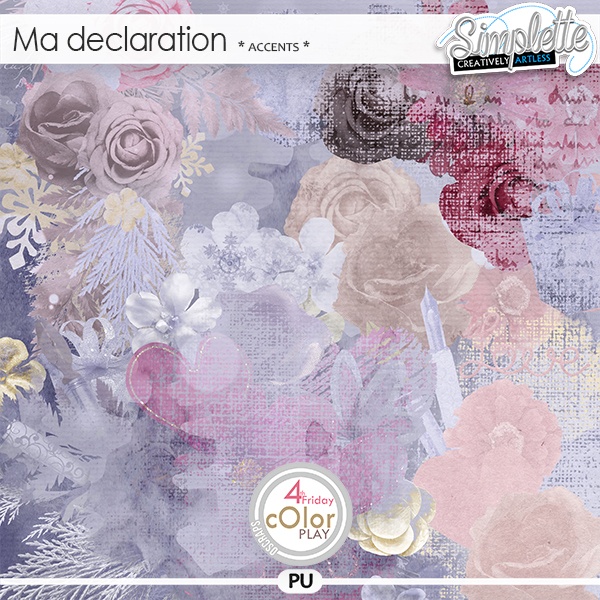 Ma Declaration (accents) by Simplette