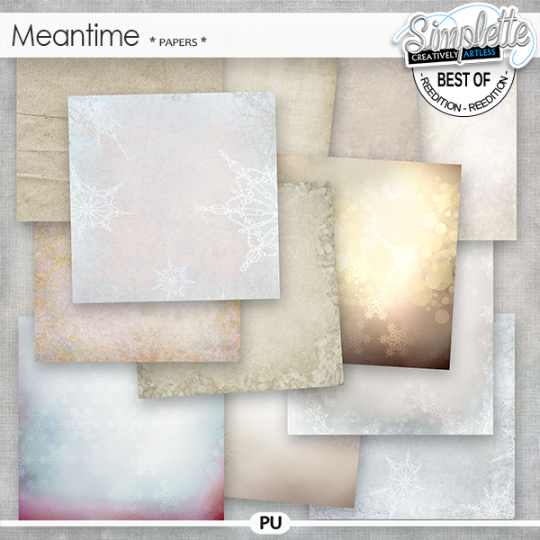 Meantime (papers) by Simplette