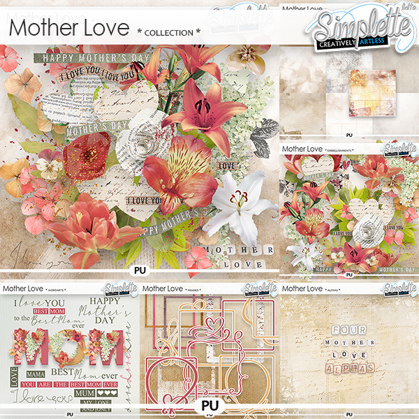 Mother Love (collection) by Simplette