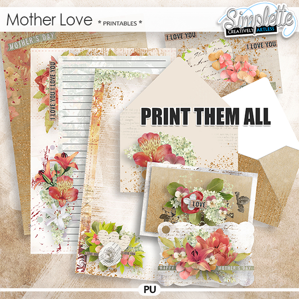 Mother Love (printables) by Simplette