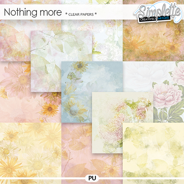 Nothing more (clear papers) by Simplette