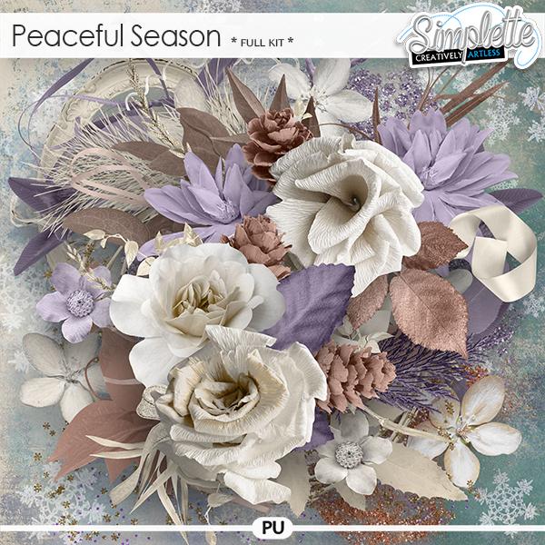 Peaceful Season (full kit) by Simplette