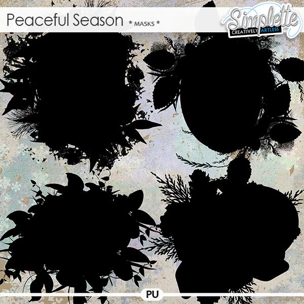 Peaceful Season (masks) by Simplette