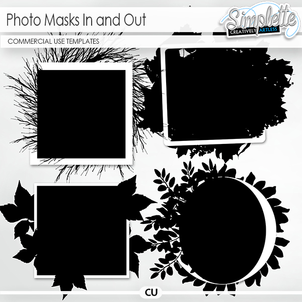 Photo Masks In and Out (CU elements)