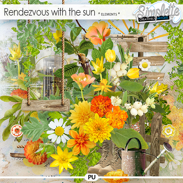 Rendezvous with the sun (elements) by Simplette