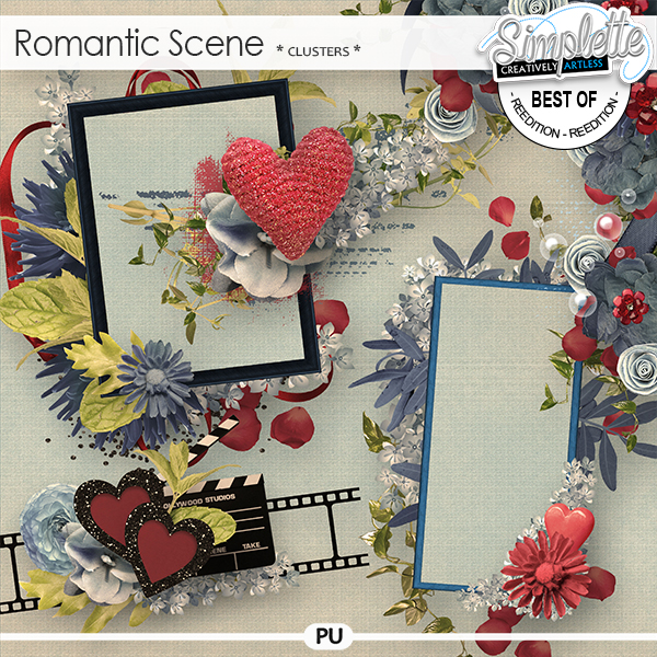 Romantic Scene (clusters) by Simplette