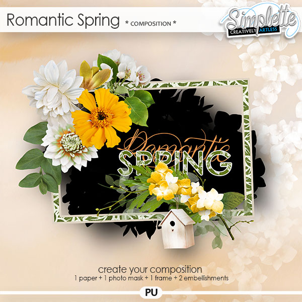 Romantic Spring (composition) by Simplette