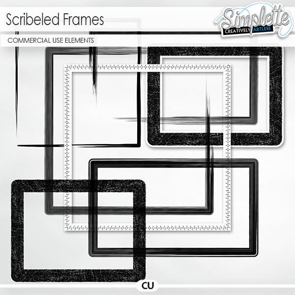 Scribeled Frames (CU elements)