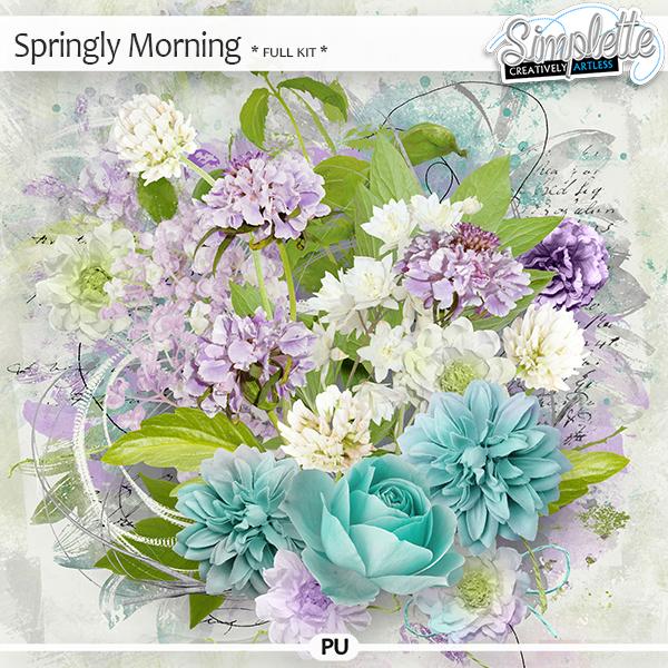Springly Morning (full kit) by Simplette