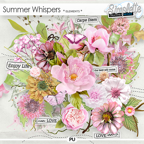 Summer Whispers (elements)