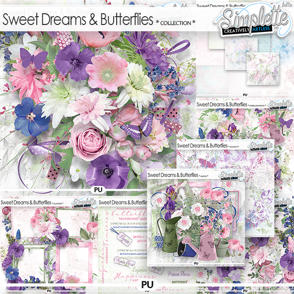 Sweet Dreams and Butterflies (collection) by Simplette