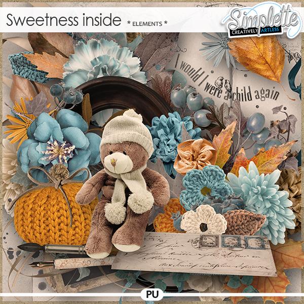 Sweetness inside (elements)