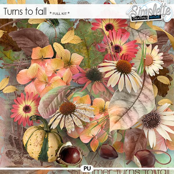 Turns to fall (full kit)