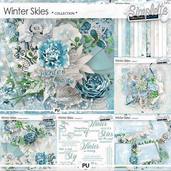 Winter Skies (collection) by Simplette