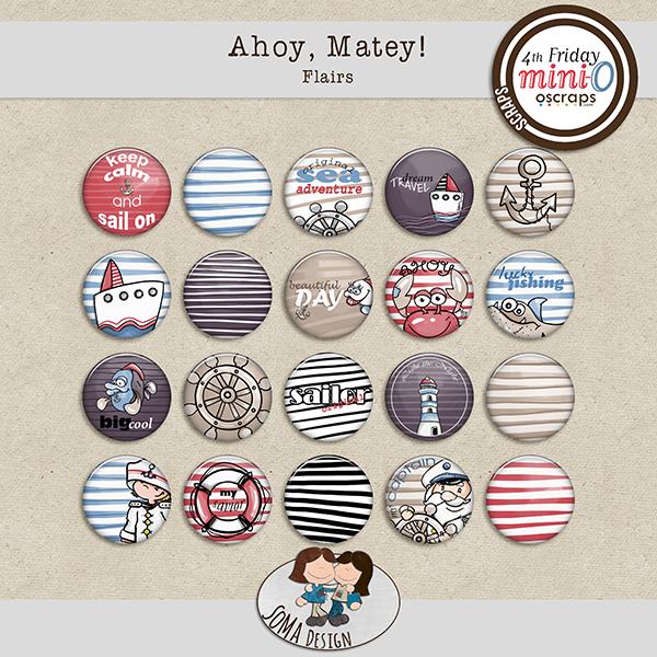 SoMa Design: Ahoy, Matey! - Flairs