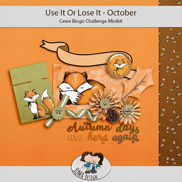 SoMa Design: Cewe Bingo - October