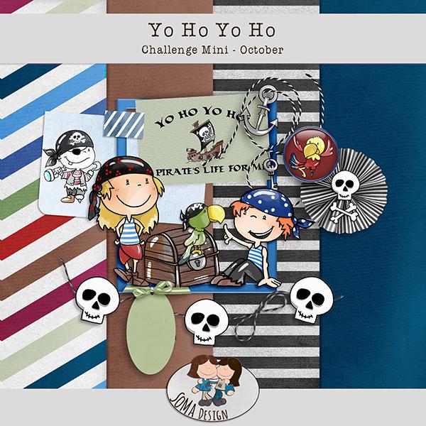 SoMa Design: Yo Ho Yo Ho - Challenge Mini