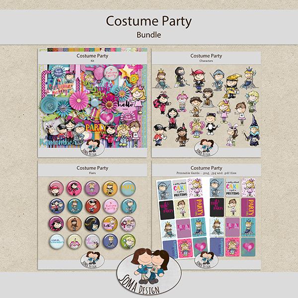 SoMa Design: Costume Party - Bundle