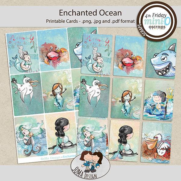 SoMa Design: Enchanted Ocean MiniO - Cards