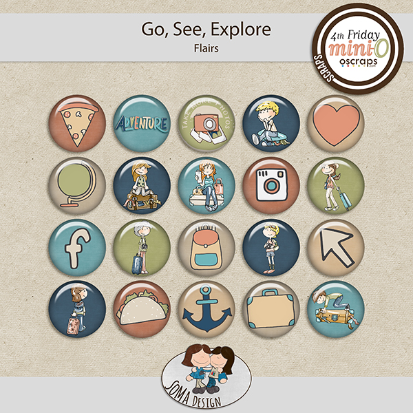 SoMa Design: Go, See, Explore - MiniO - Flairs