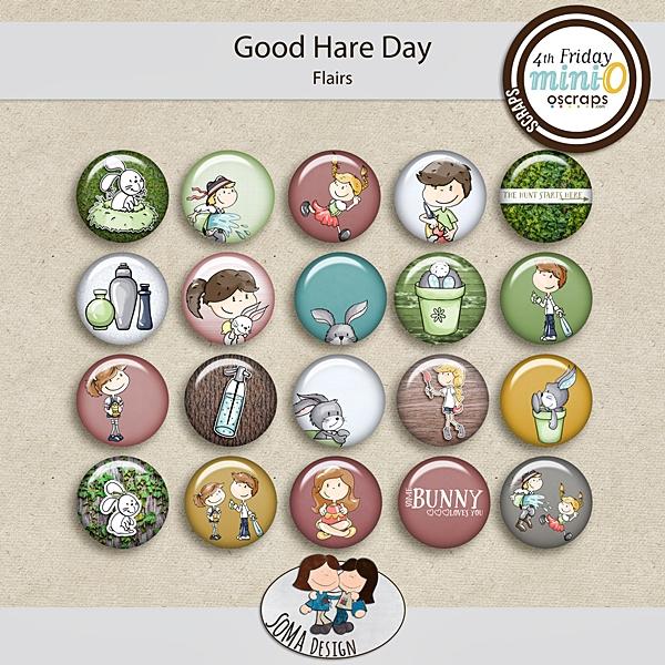 SoMa Design: Good Hare Day - MiniO - Flairs