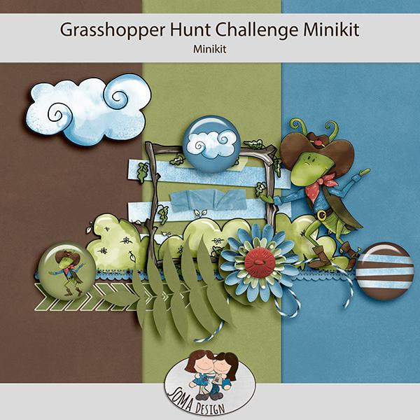 SoMaDesign - Grasshopper Hunt - Challenge Mini