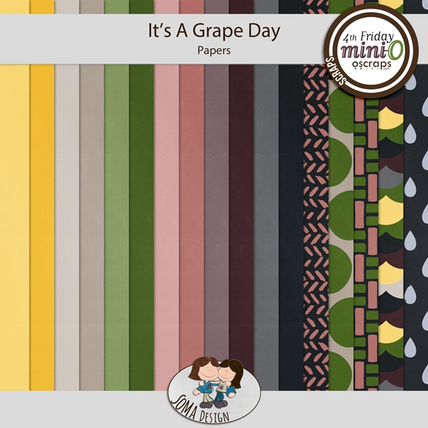 SoMa Design: It's A Grape Day - Papers