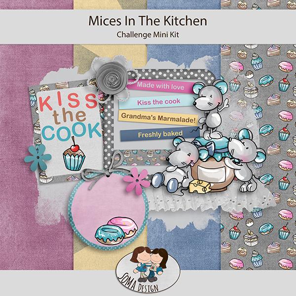 SoMa Design: Mice In The Kitchen - Challenge Mini