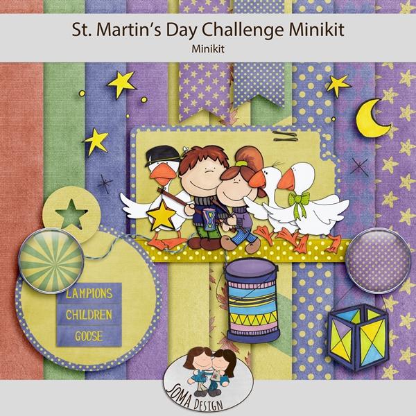 SoMa Design: St. Martin's Day - Challenge Mini