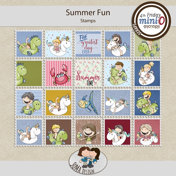 SoMaDesign: Summer Fun - Stamps