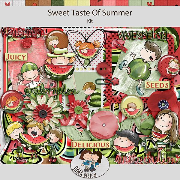 SoMa Design: Sweet Taste Of Summer - Kit