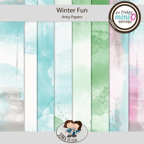 SoMa Design: Winter Fun - MiniO - Artsy Papers