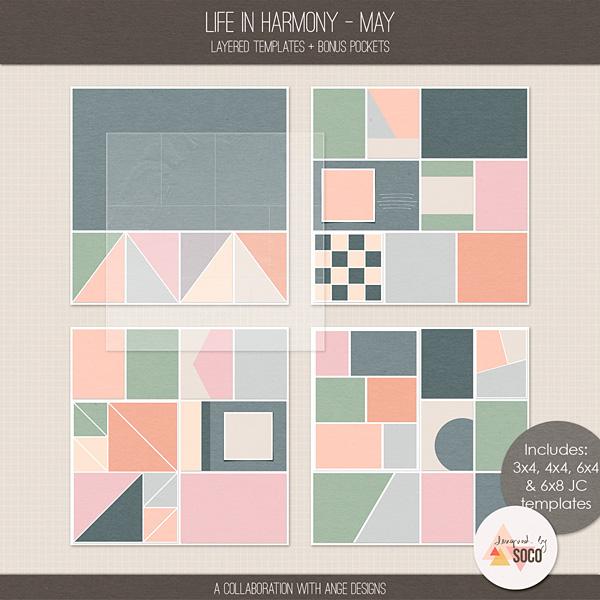 Life In Harmony - May {Templates}