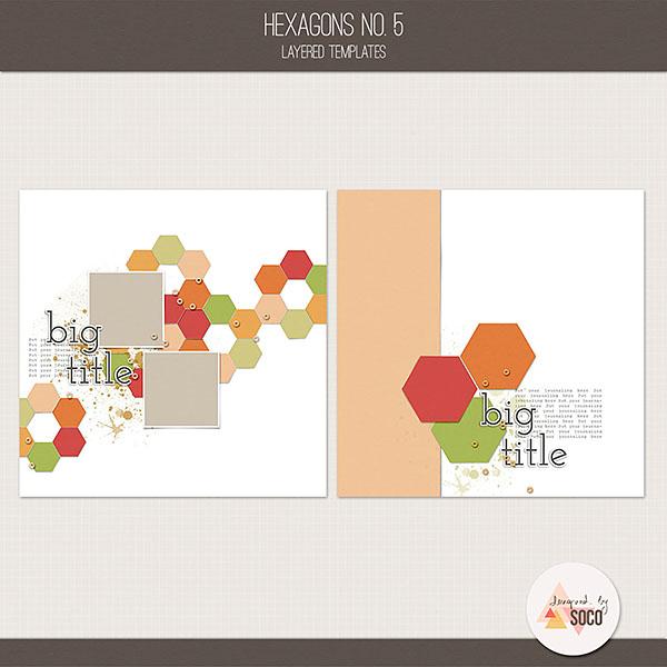 Hexagons No. 5