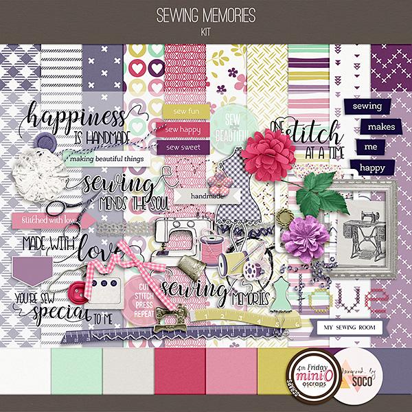 Sewing Memories - Kit