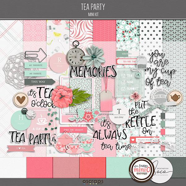 Tea Party - Mini Kit