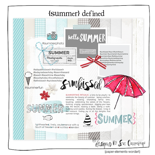 Summer Defined {Kit}
