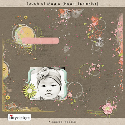 Touch of Magic {Heart Sprinkles}
