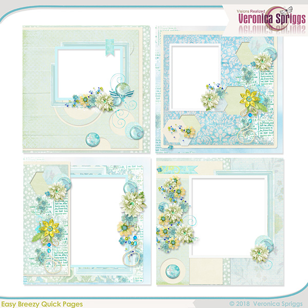 Easy Breezy Mini Quick Pages