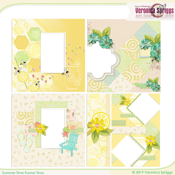 Summer Time Funner Time Mini Quick Pages